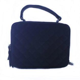 Bolso bandolera, estilo maleta.