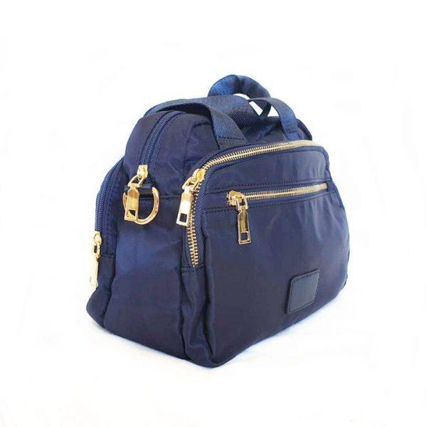 Bolso de mano y bandolera azul marino Modelo 500