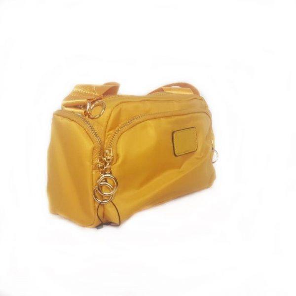 Bolso bandolera color amarillo Modelo  6036