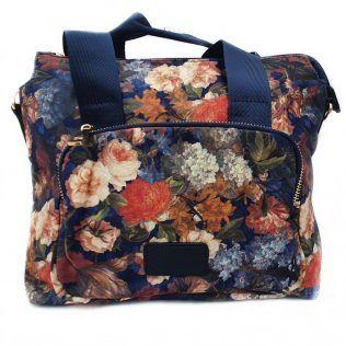 Bandolera estampado floral. Una alegría de bolso.