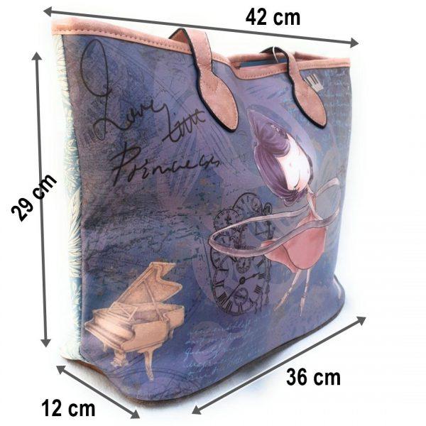 Bolso de hombro Muñeca bailarina 843-3