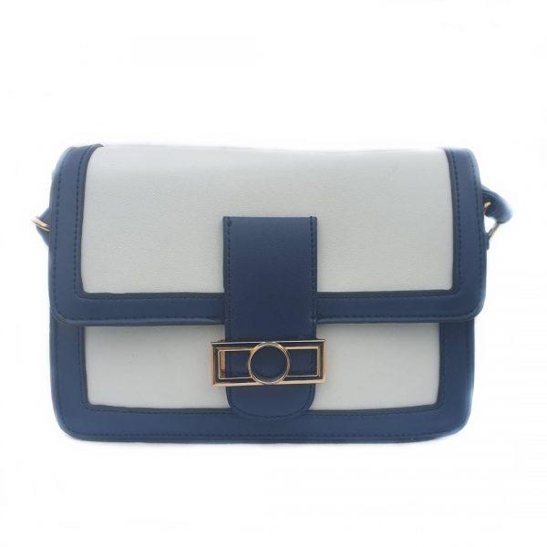 Bolso bandolera color azul