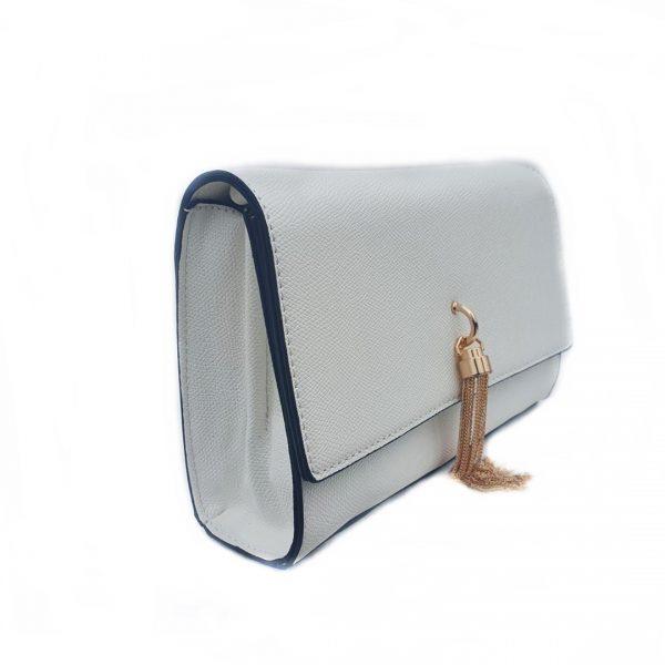 Bolso bandolera blanco. B551